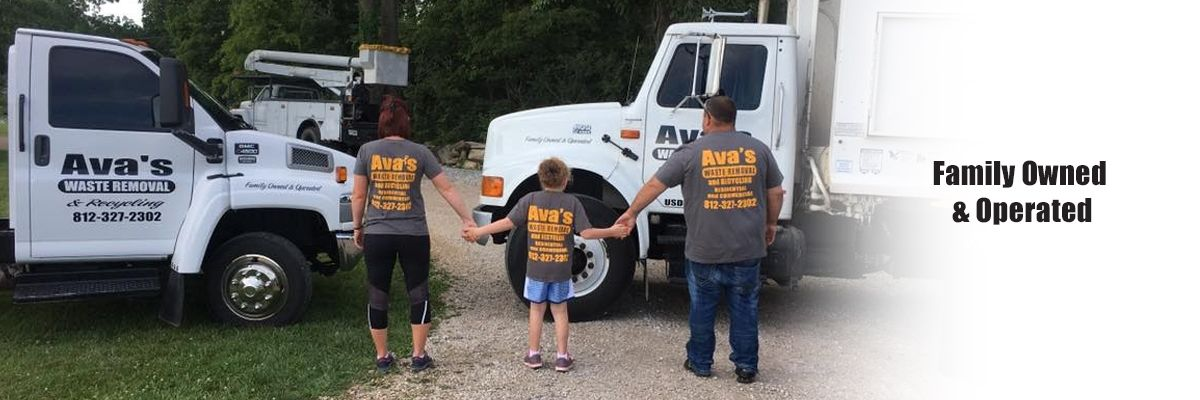 Ava's Waste Removal is 100% Family Owned and Operated